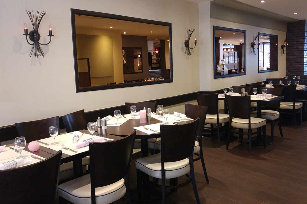 Restaurant La Rogina : La salle