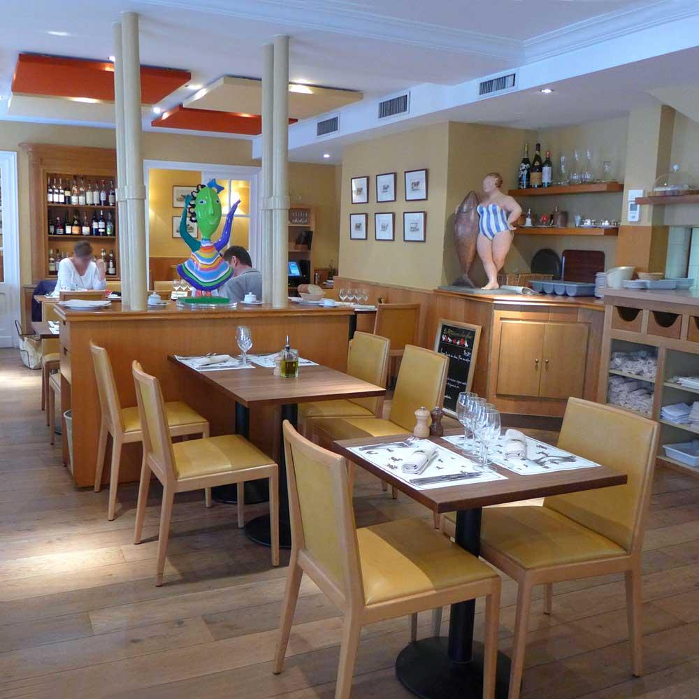 Restaurant La Rôtisserie d'en Face : La salle
