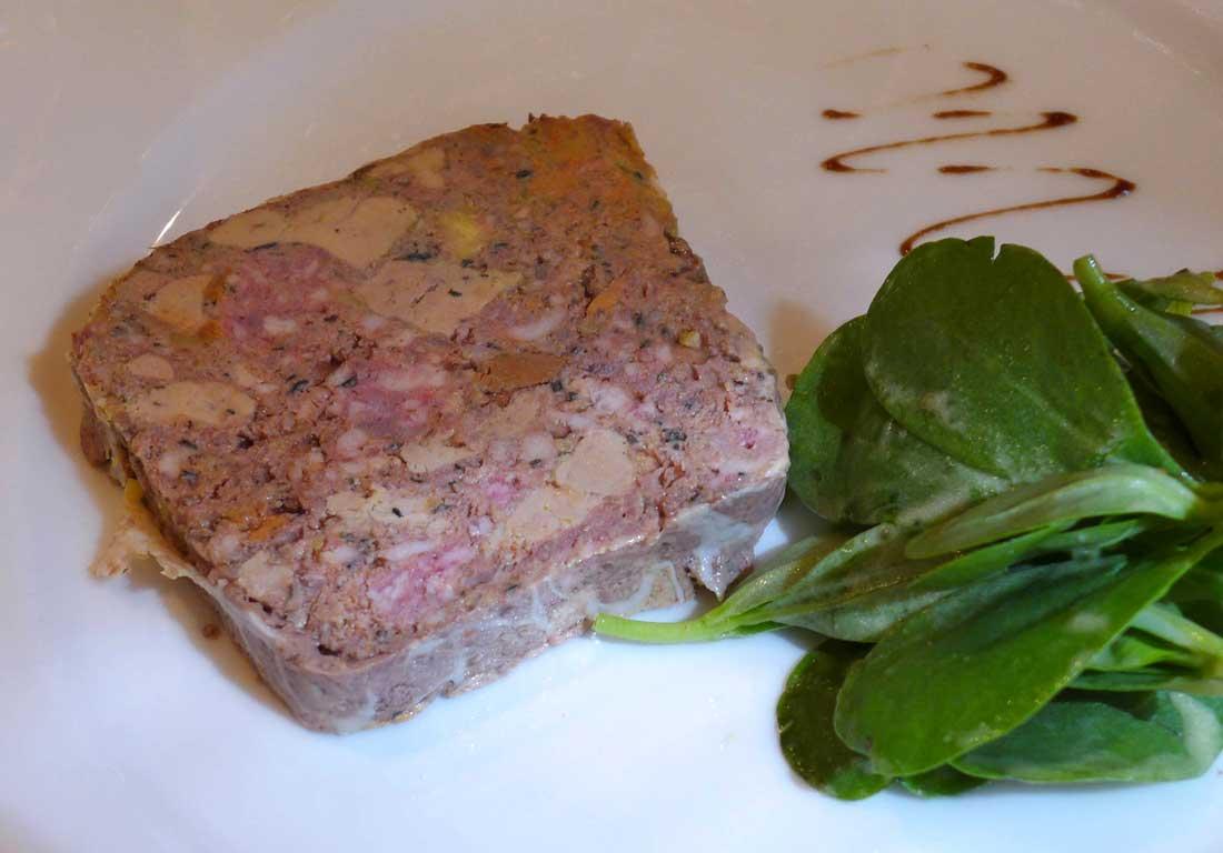 Restaurant La Rôtisserie d'en Face : Terrine de foie de volailles