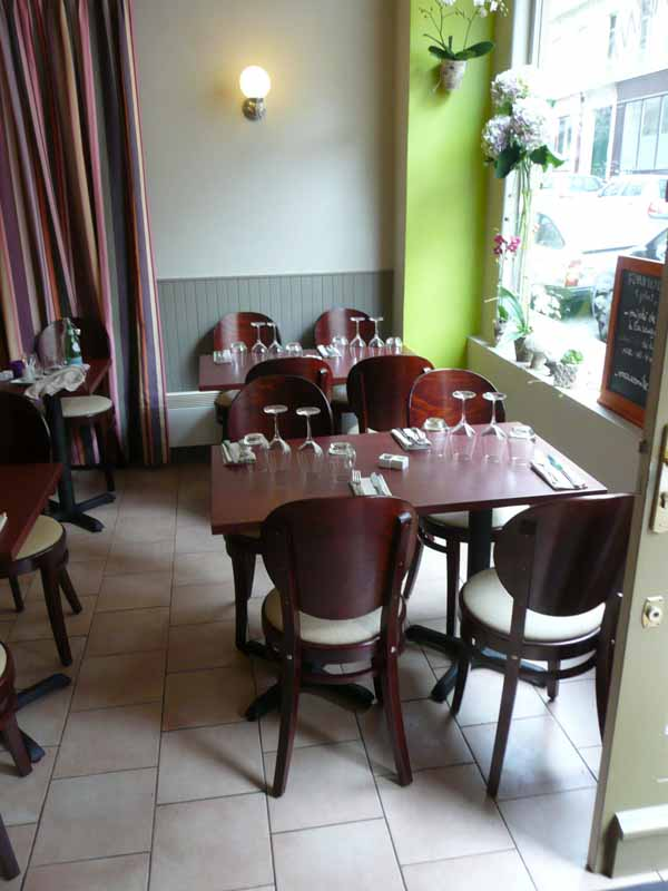 Restaurant La Table d'Eugène, Le restaurant
