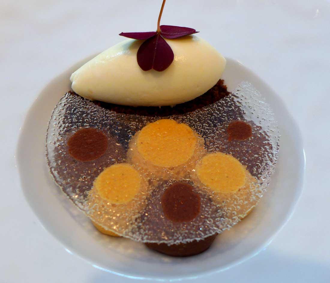 Restaurant La Table du 11 : Chocolats-caramel