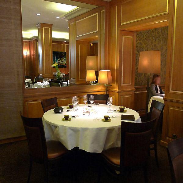 Restaurant Carte Blanche, Elégance et confort de la salle