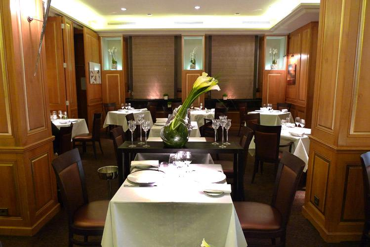 Restaurant Carte Blanche, La salle
