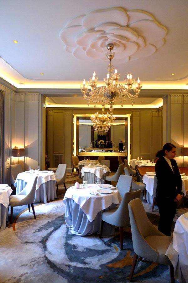 Restaurant La Table du Lancaster, la salle