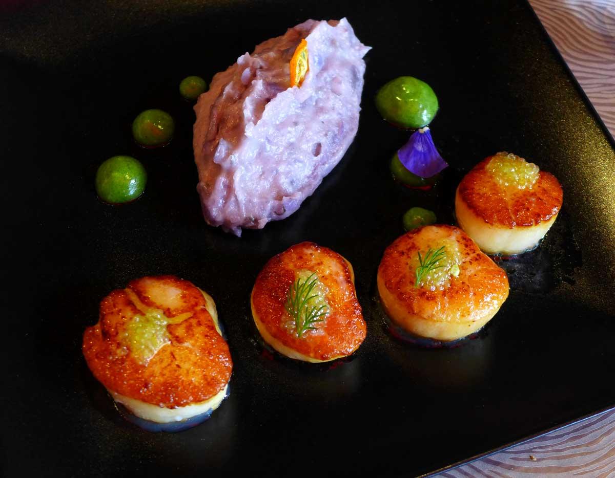 Restaurant La Table d'Ugo : Saint-Jacques fumées