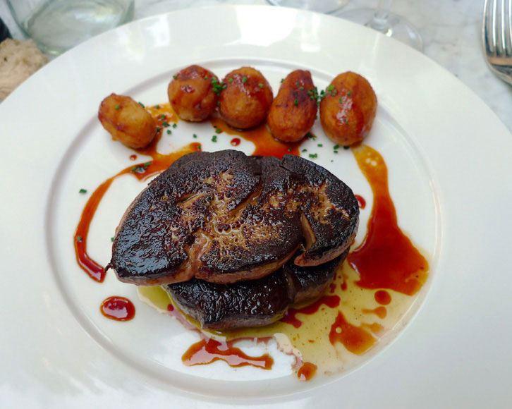 Restaurant La Villa : Tournedos Rossini pommes grenailles