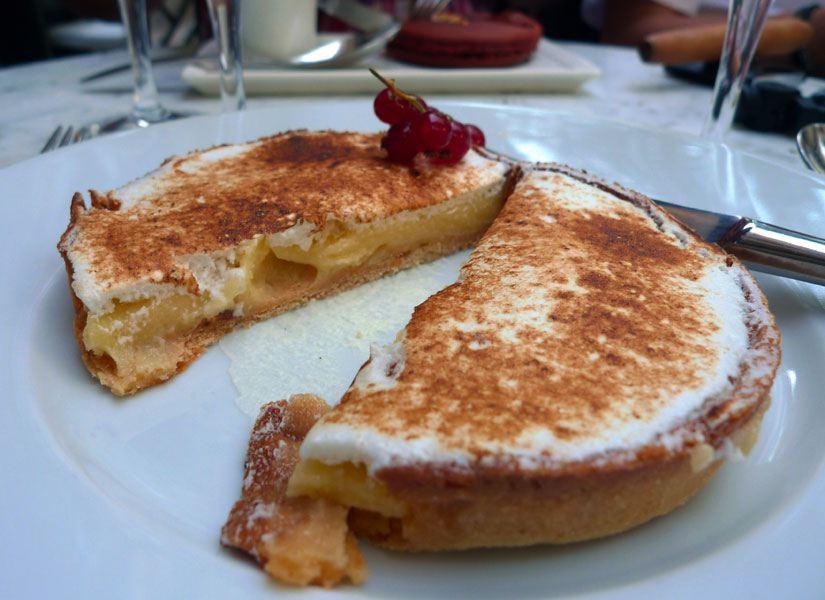 Restaurant La Villa : Tarte citron