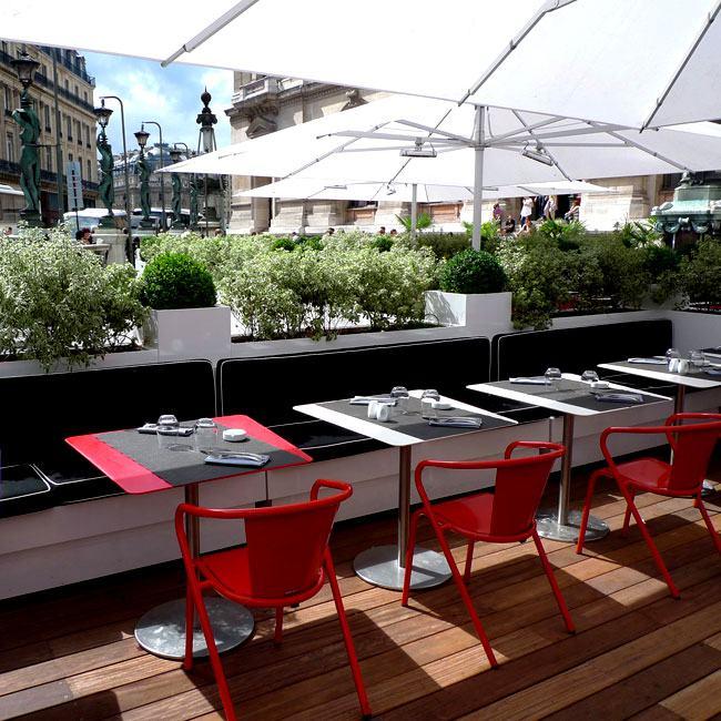 La nouvelle terrasse