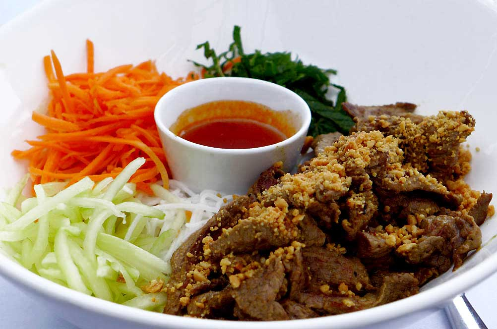Restaurant Mary Goodnight : Bœuf sauté au curry