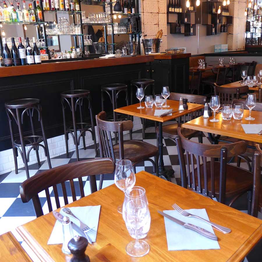 Restaurant La Tête de Goinfre : La salle