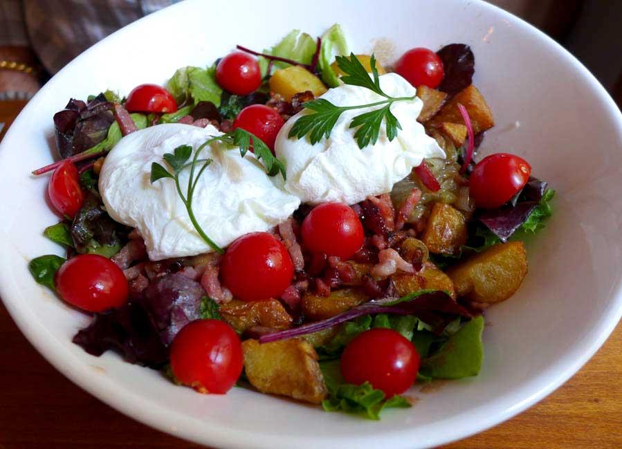 Restaurant La Tête de Goinfre : Salade Tête de Goinfre