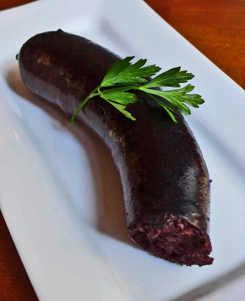 Restaurant La Tête de Goinfre : Boudin noir