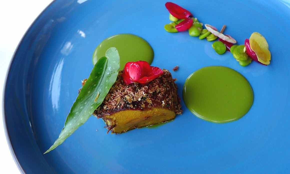 La Tour d'Argent, foie gras de la ferme Adour