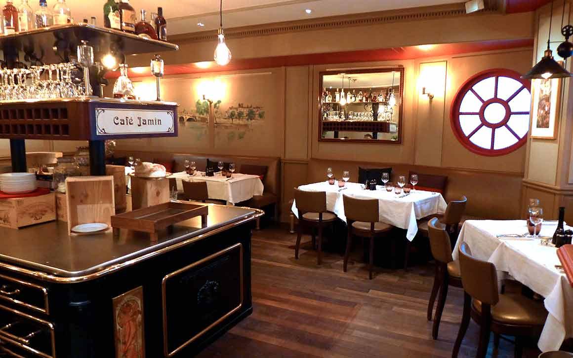 Café Jamin : La salle