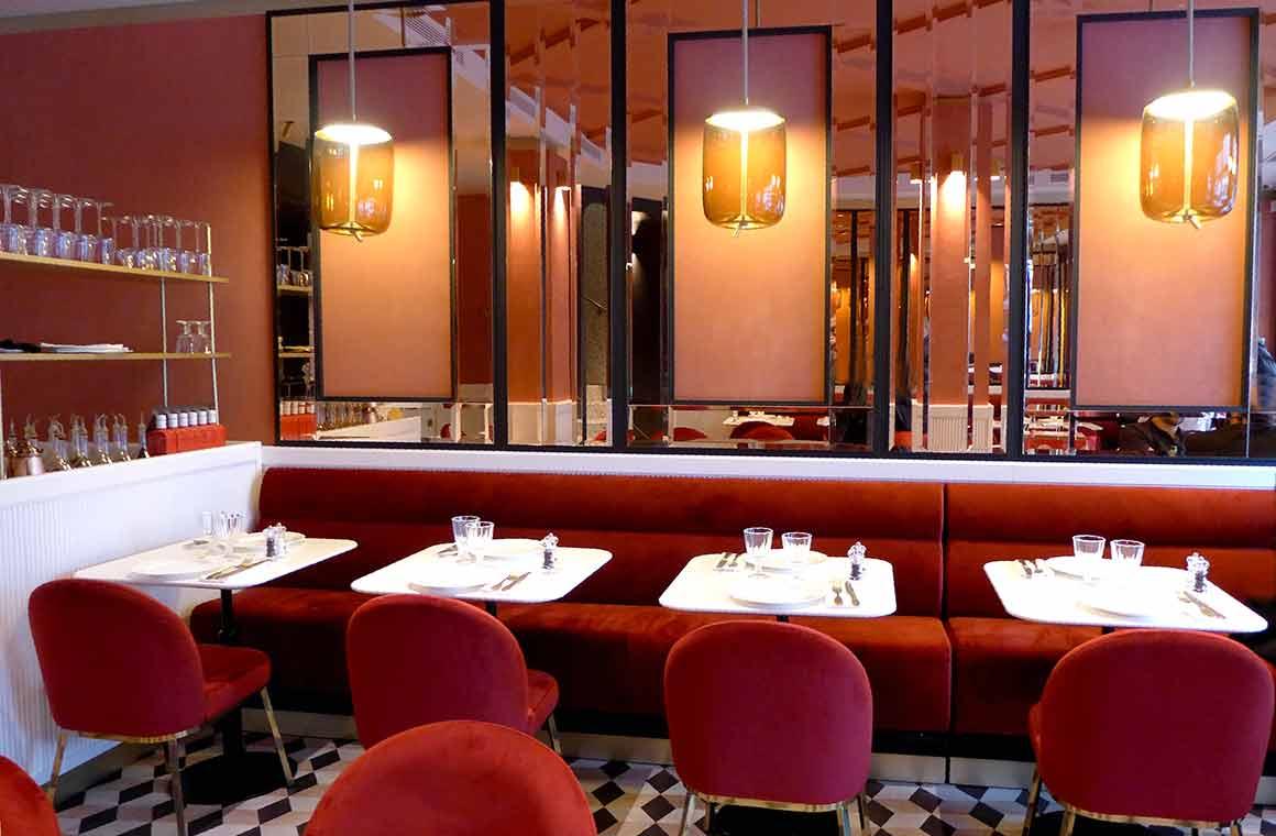 Restaurant Giusé, la salle du rez-de-chausée
