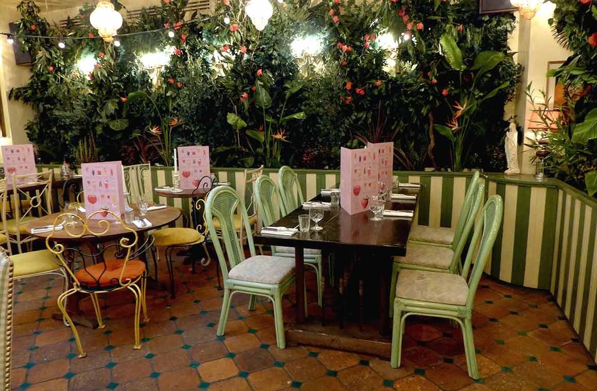Restaurant Libertino, la salle