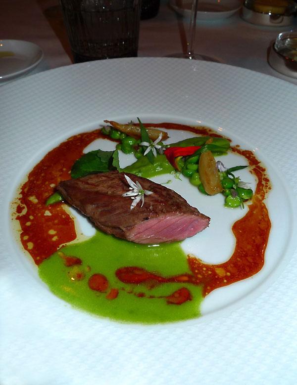 Restaurant L'Abeille, veau fermier du Limousin