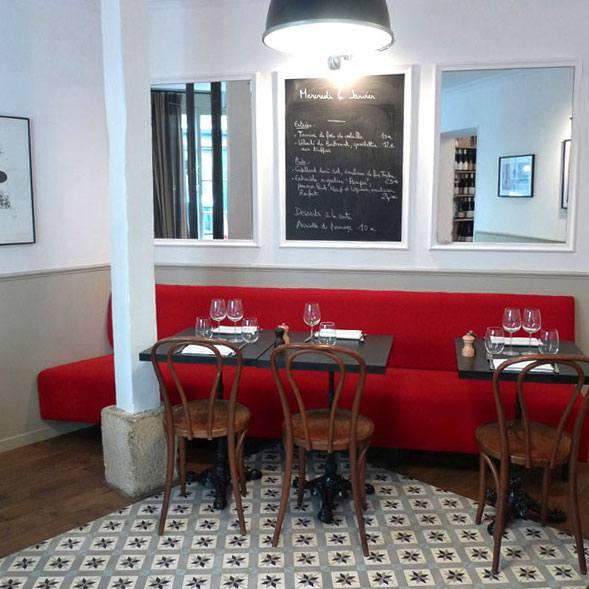 Restaurant L'Affable, La salle