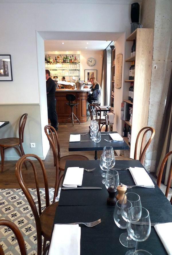 Restaurant L'Affable, Décor et ambiance bistrot