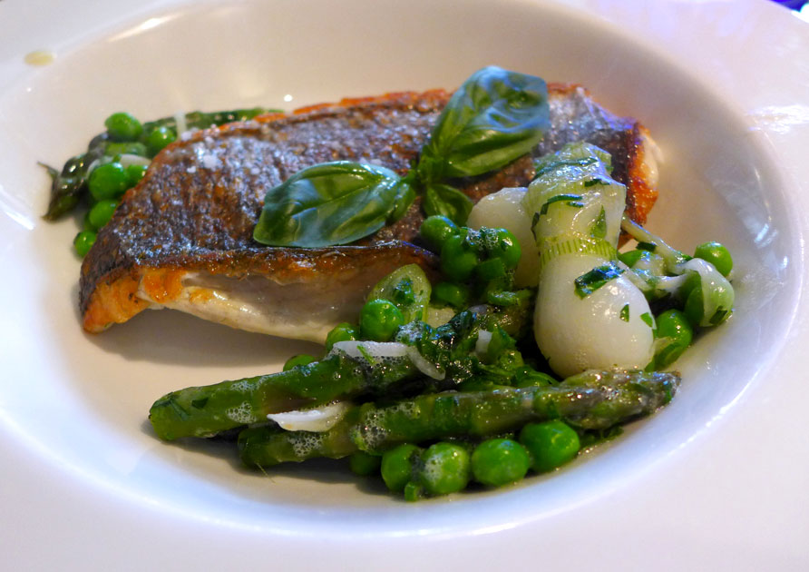 Restaurant L'Affriolé : Daurade à la plancha