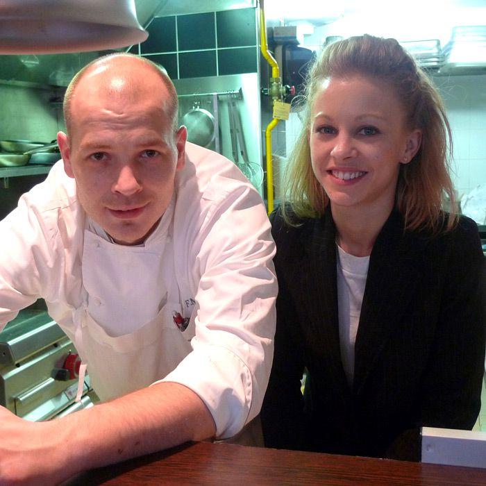 Restaurant L'Agrume, Franck Marchesi-Grandi et Karine Perrin