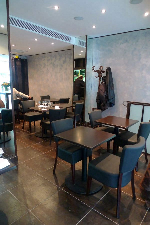 Restaurant L'Agrume, la salle