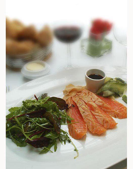 Restaurant L'Alcazar, le saumon