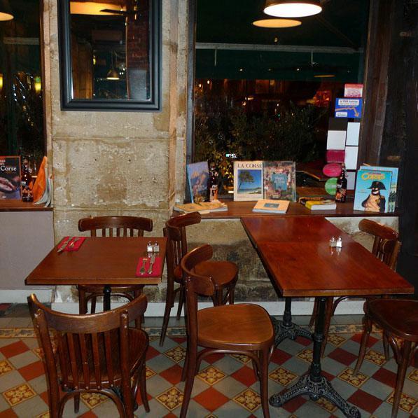 Restaurant L'Alivi, la salle