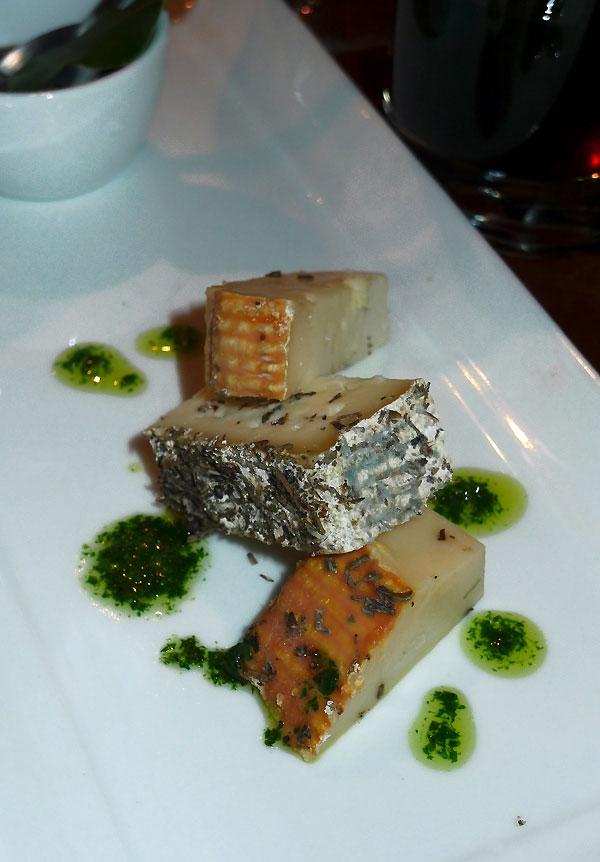 Restaurant L'Alivi, choix des fromages