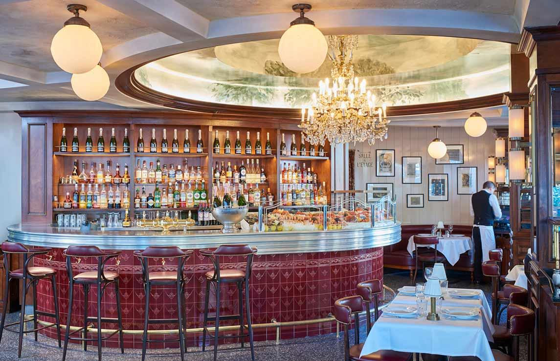 Restaurant L'Alsace, La salle