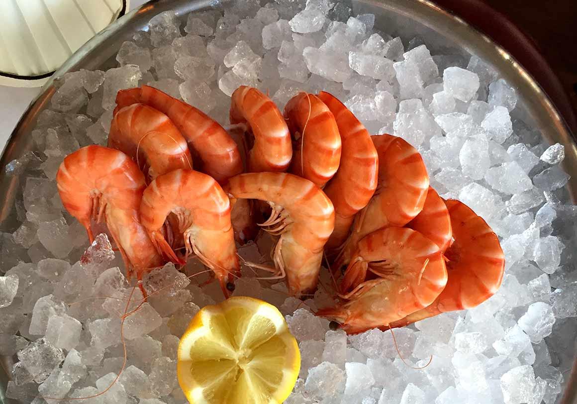 Restaurant L'Alsace, Les bouquets de crevettes
