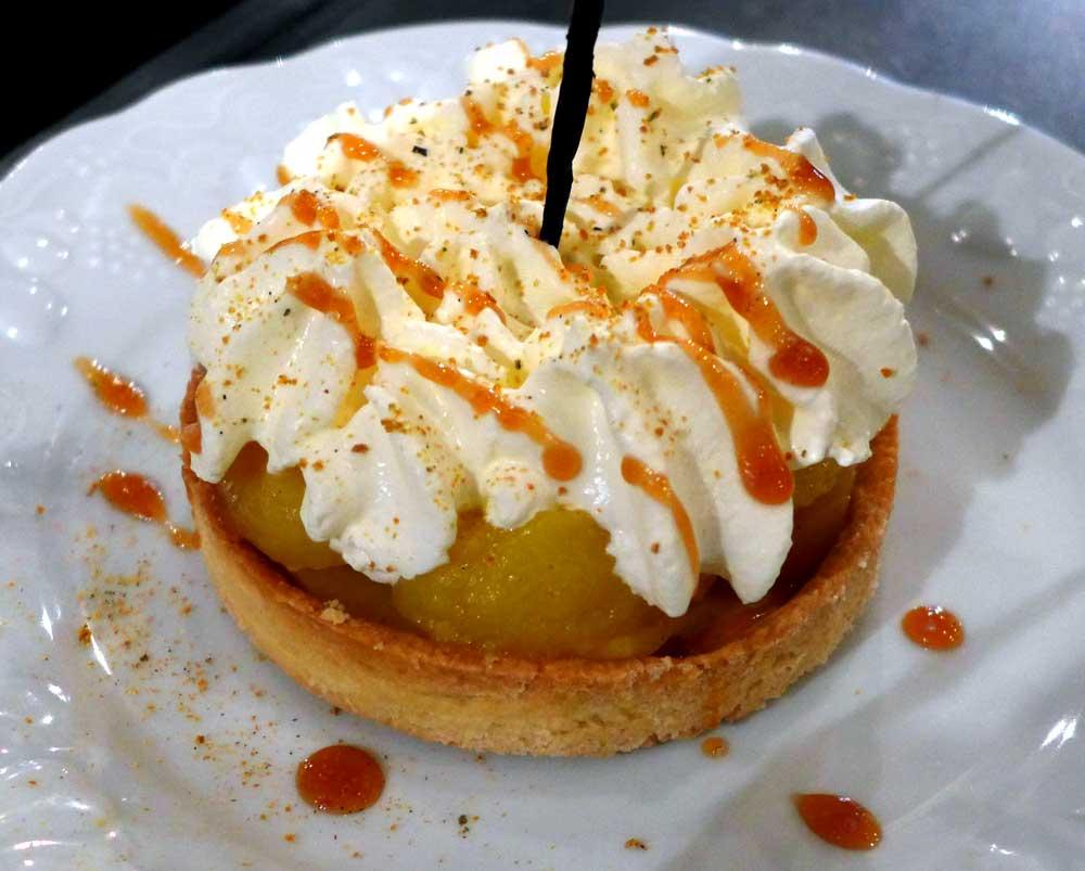 Restaurant L'Ancienne Maison Gradelle : Tarte aux fruits