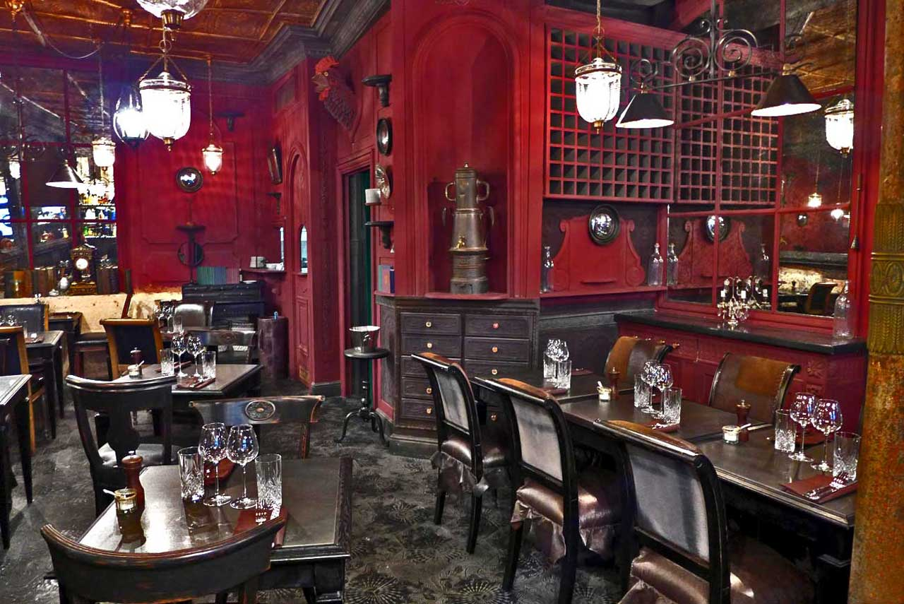 Restaurant L'Ancienne Maison Gradelle : La salle