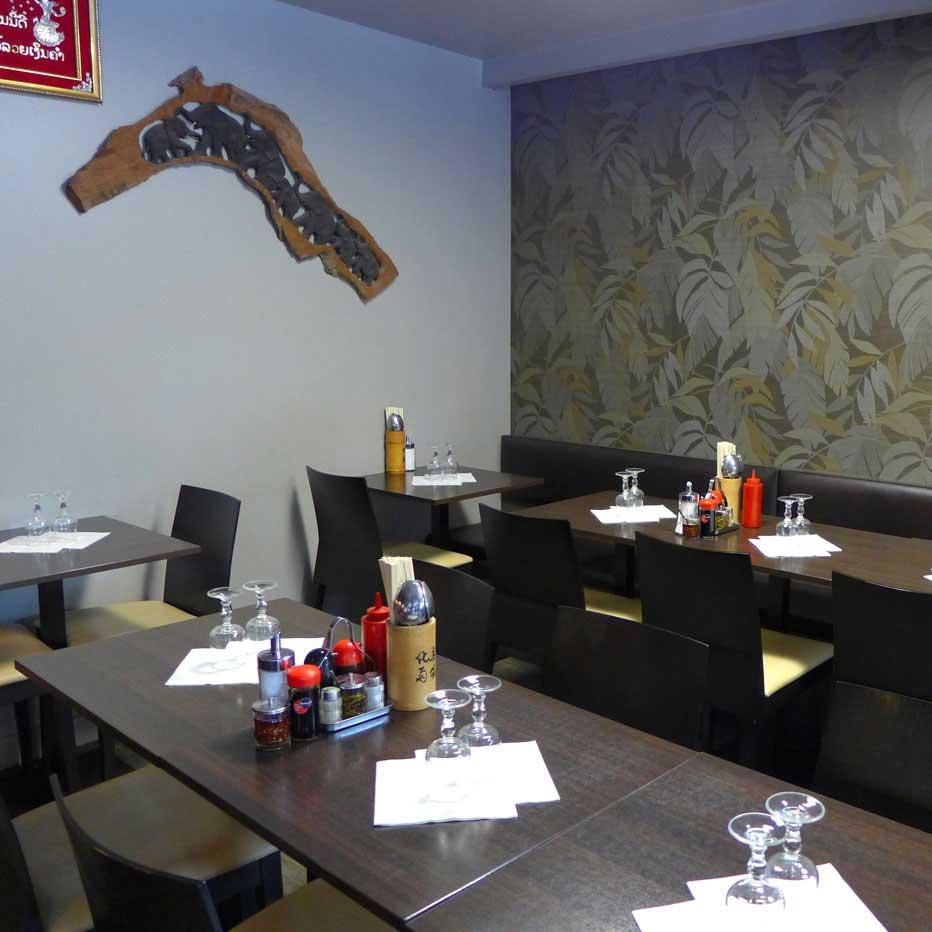 Restaurant Lao Douang Chan, La salle