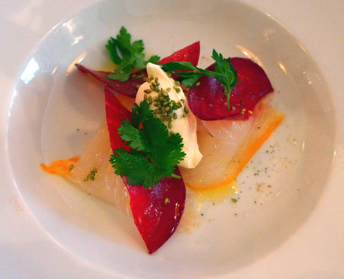 Restaurant L'APIBO, filet de haddock