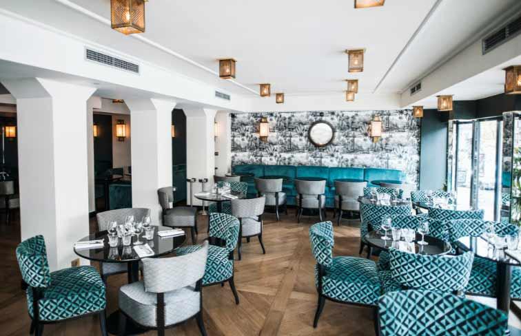 Restaurant L'Apollo : La salle