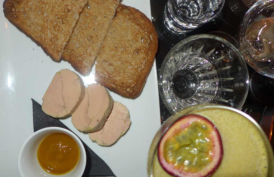 Restaurant L'Apollo : Foie gras mi- cuit