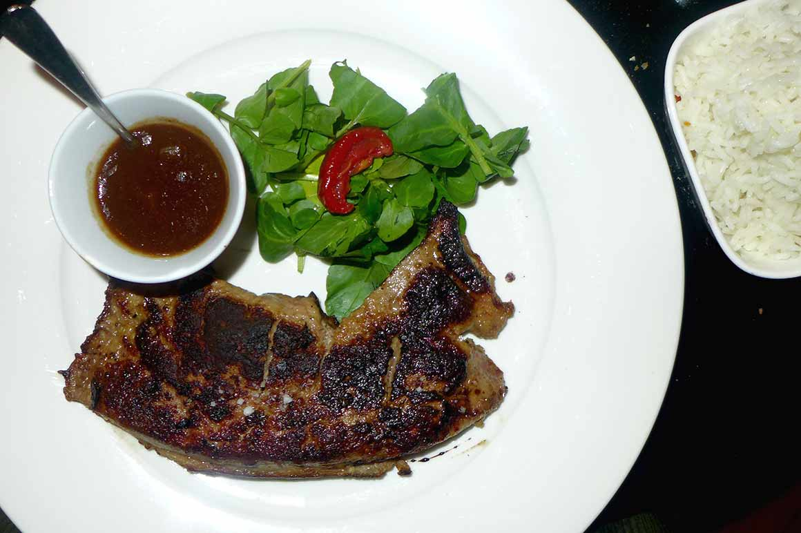 Restaurant L'Apollo : Foie de veau au balsamique