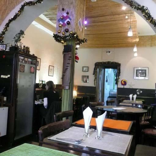 Restaurant L'Arbre de Sel, La salle du restaurant