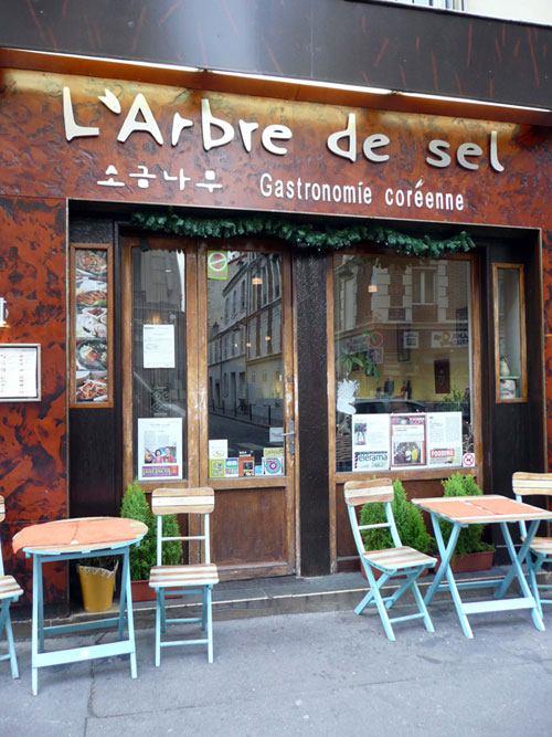 Restaurant L'Arbre de Sel, Le restaurant