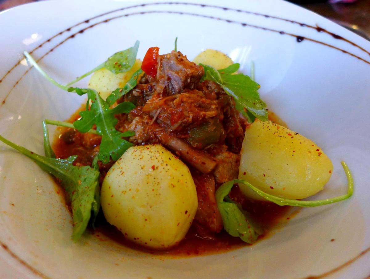 Restaurant L'Ardoise du XV, A xoa de veau