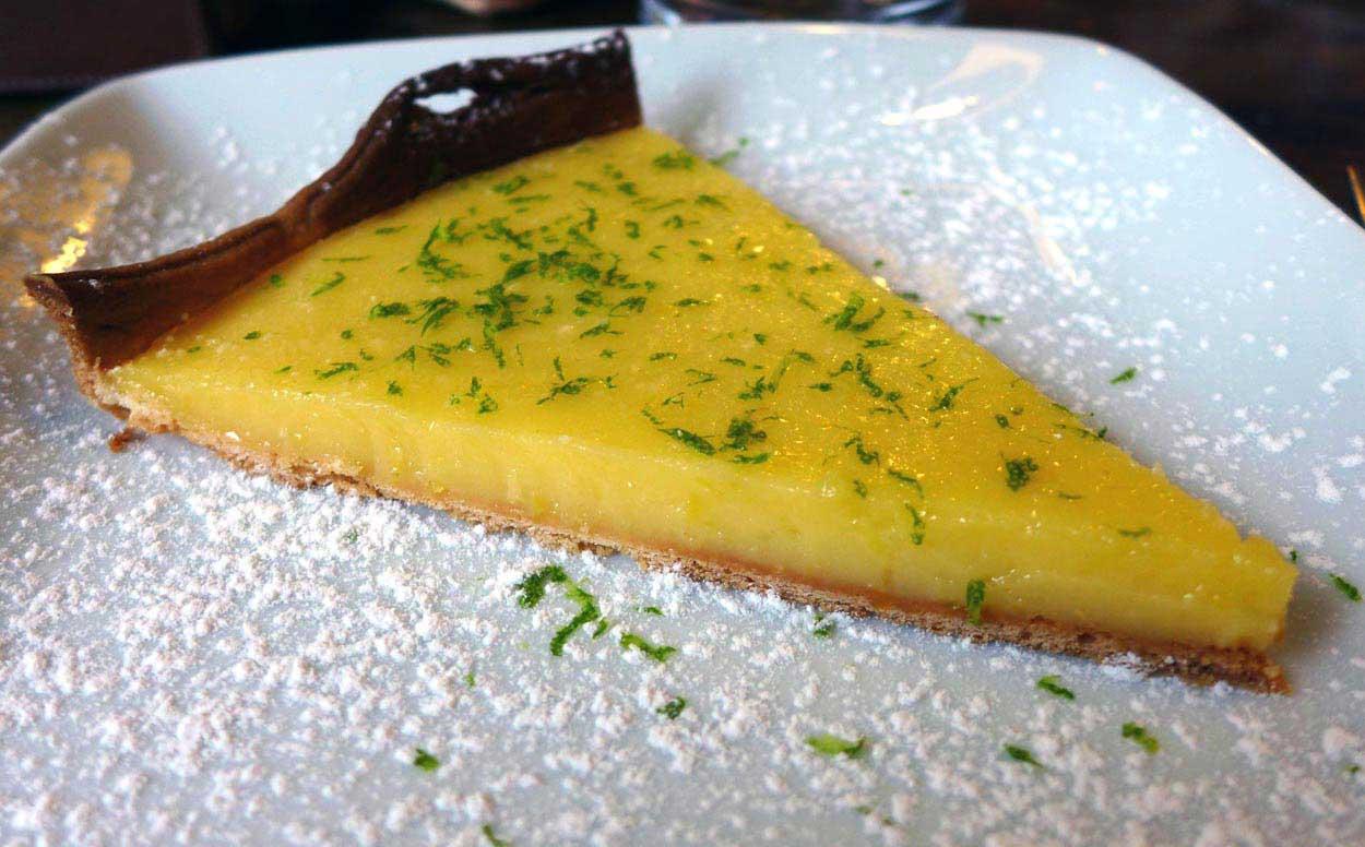 Restaurant L'Ardoise du XV, Tarte au citron