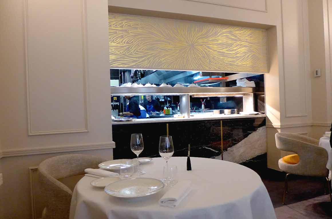 Restaurant l'Arôme à Paris 8ème, un cadre chic