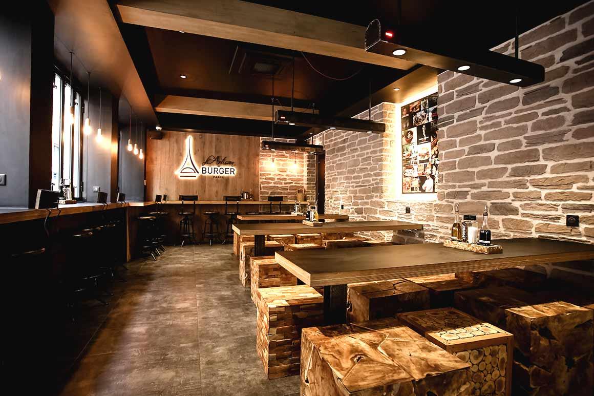 Restaurant L'Artisan du Burger : La salle