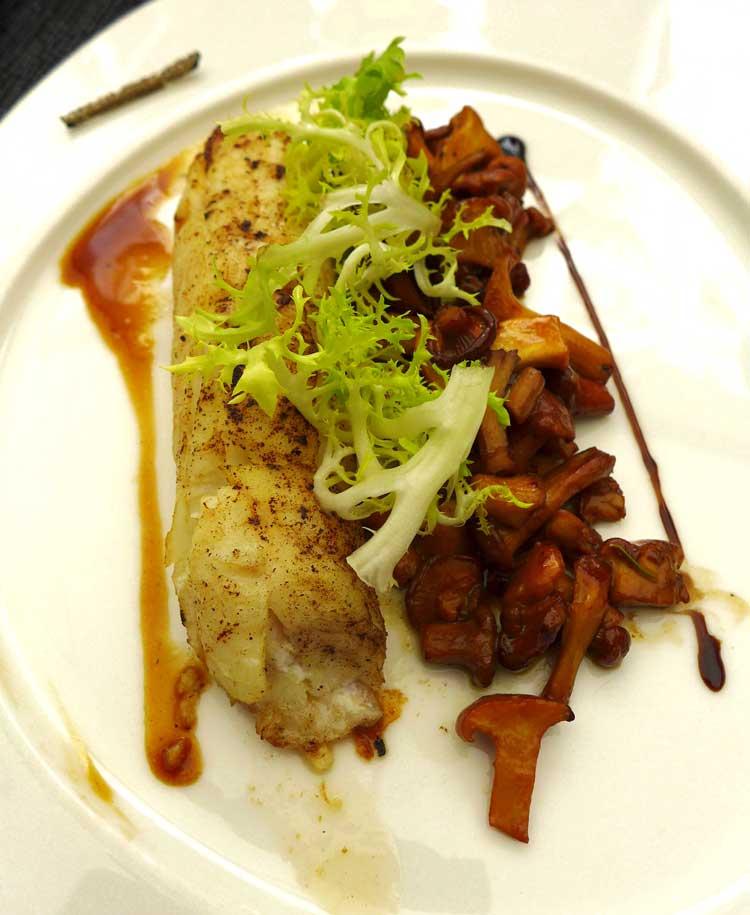 Restaurant l'Assaggio, filet de sole-limande meunière