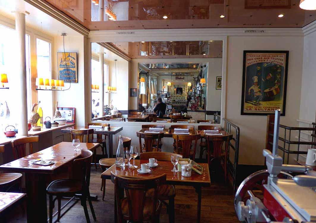 Restaurant L'Assiette : La salle