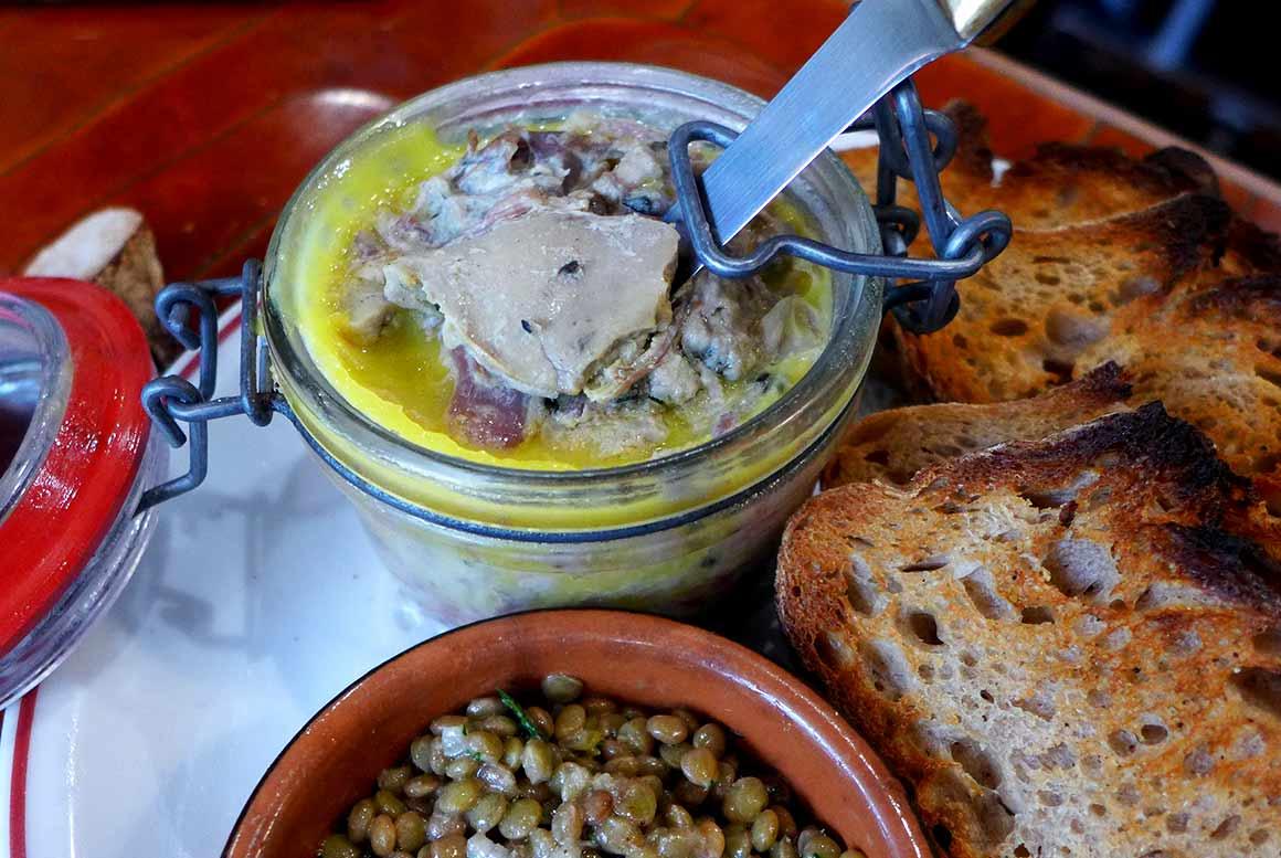 Restaurant L'Assiette : Rillettes de jarret de cochon