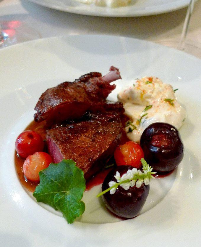 Restaurant L'Astrance : Pigeon de Sologne