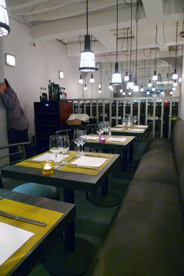 Restaurant L'Atelier de l'Escalope, la salle