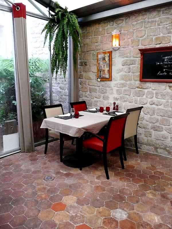 Restaurant l'Atelier des Compères, le patio